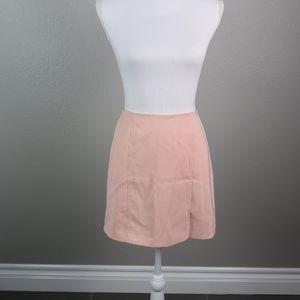 Vintage Pink Mini Skirt